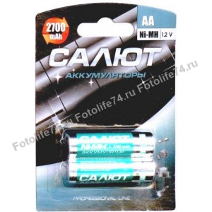 Купить Аккумулятор 1шт! 2700 mAh AA/R6 в Магнитогорске