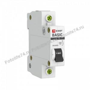 Купить Автоматический выкл. EKF 16А, С 4,5 кА в Магнитогорске