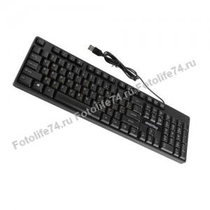 Купить Клавиатура USB Мультимедийная + в Магнитогорске