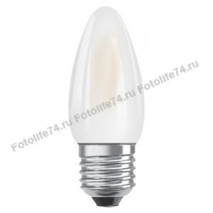 Купить Лампа светодиодная 7W(60W) E27 (2700/4000) свеча в Магнитогорске