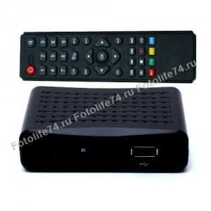 Купить Цифровой ресивер DVT-T2 + HD плеер эко в Магнитогорске