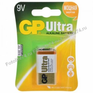 Купить Батарейка 1 шт! крона (6F22) (алкалин.) в Магнитогорске